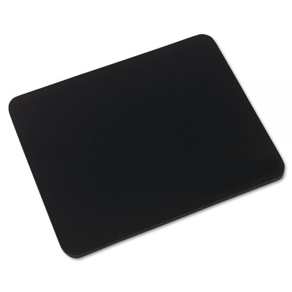 Innovera Natural Rubber Mouse Pad, Black