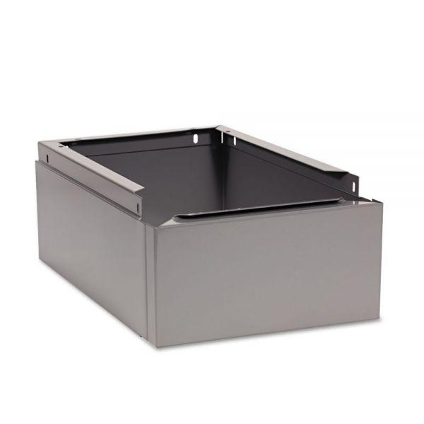 Tennsco Optional Locker Base for Steel Lockers, Medium Gray, 12w x18d x6h