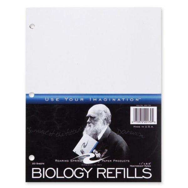 Roaring Spring Biology Filler Paper