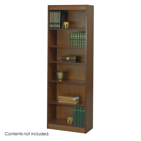Safco 6-Shelf Wood Veneer Baby Bookcase
