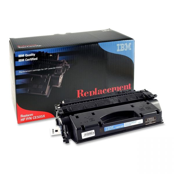 IBM Remanufactured HP 05X Black Toner Cartridge