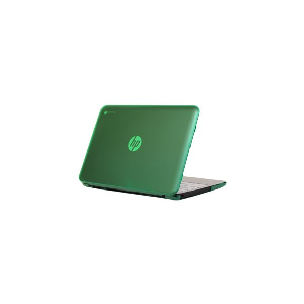 "iPearl Green mCover Hard Shell Case for 11.6"" HP Chromebook 11 G2 / G3 Laptop"