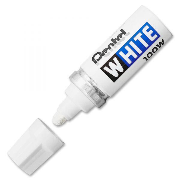 Pentel Felt Tip White Markers