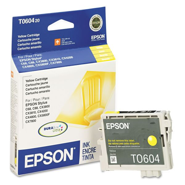 Epson T0604 Yellow Ink Cartridge