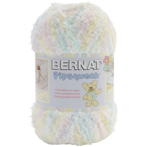 Bernat Pipsqueak Big Ball Yarn - Baby Baby Print