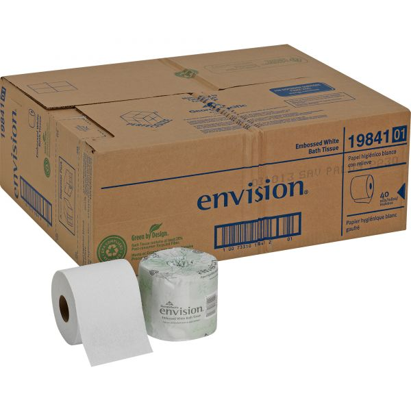 Envision Embossed Toilet Paper
