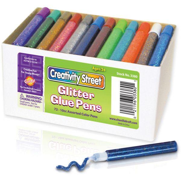 ChenilleKraft Resealable Glitter Glue Pens