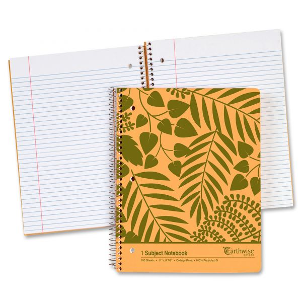 Ampad Envirotech One-Subject Notebook