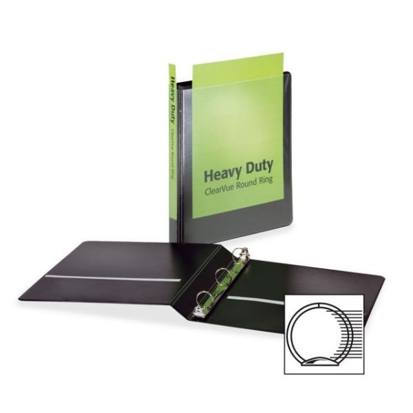 "Cardinal HeavyDuty 1"" 3-Ring View Binder"