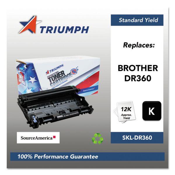 Triumph 751000NSH1066 Remanufactured DR360 Drum Unit, Black