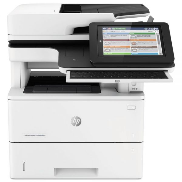HP LaserJet Enterprise Flow MFP M527z Wireless Multifunction, Copy/Fax/Print/Scan