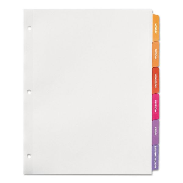 Avery Ready Index Daily Tab Dividers