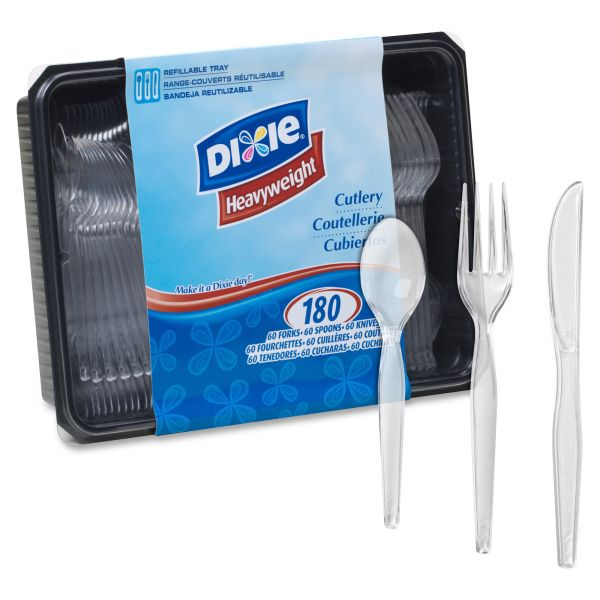 Dixie Heavyweight Cutlery: Spoons, Knives, and Forks