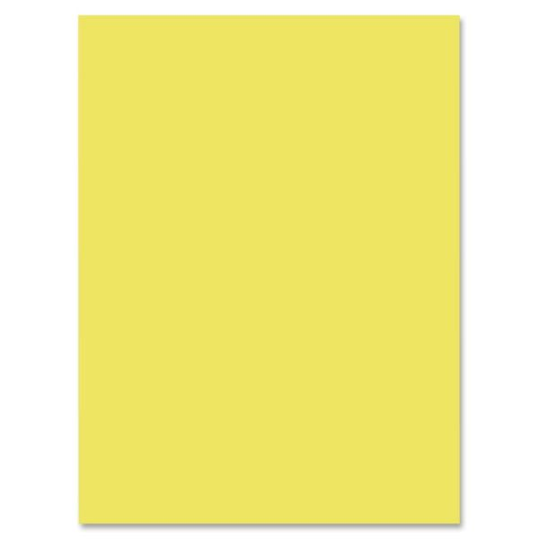 Nature Saver Yellow Construction Paper