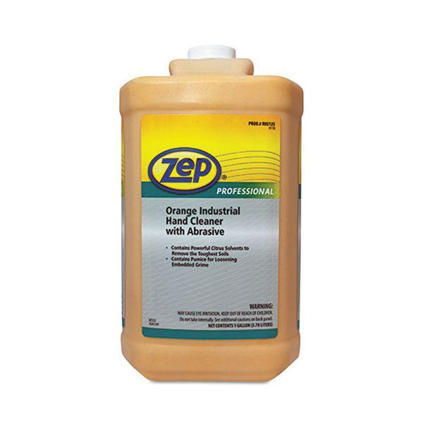 Zep Professional Industrial Hand Cleaner, Orange, 1gal Bottle