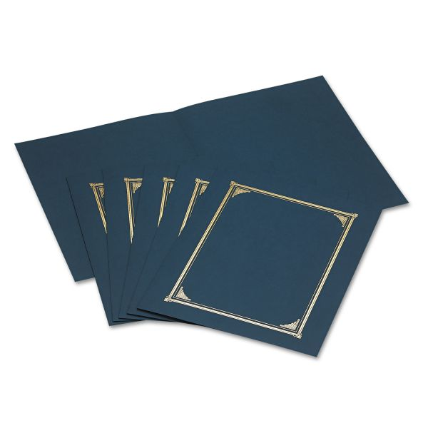 Geographics Navy Blue Certificate Holders