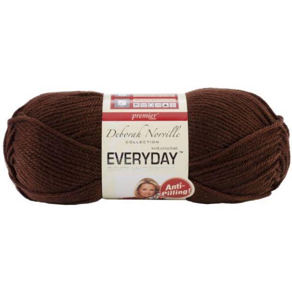 Deborah Norville Collection Everyday Yarn - Chocolate