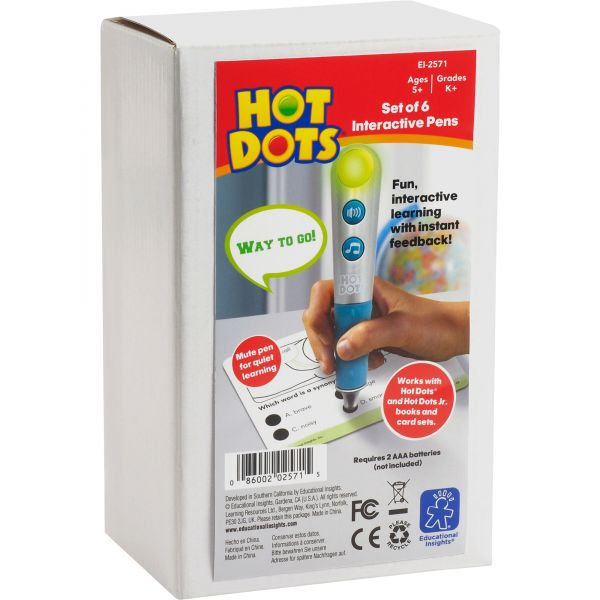 Hot Dots Talking Pens Pack