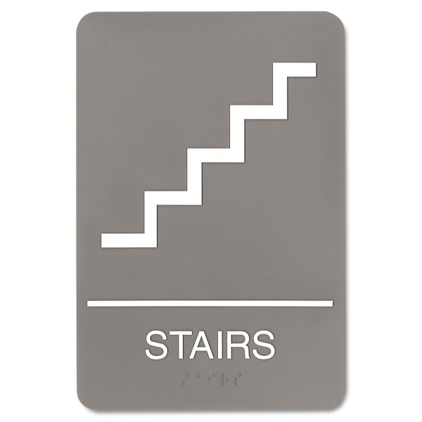 "Headline Sign ""Stairs"" Sign"