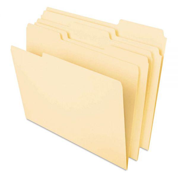Universal One Heavyweight Manila File Folders