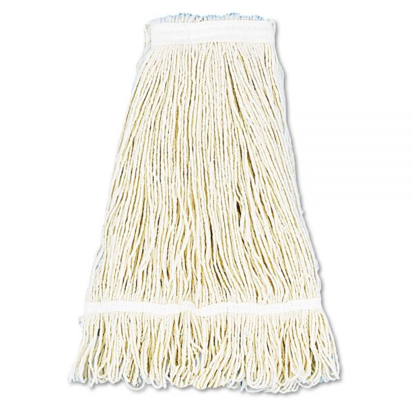 Boardwalk Pro Loop Web/Tailband Wet Mop Heads