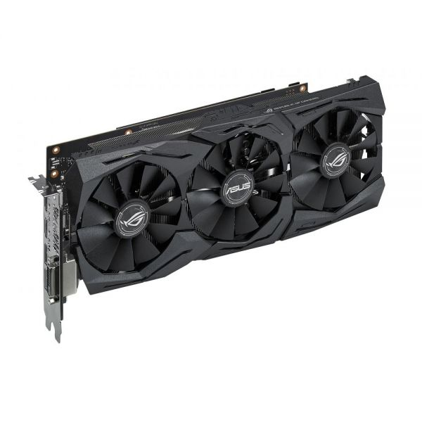 ROG STRIX-GTX1060-6G-GAMING GeForce GTX 1060 Graphic Card - 1.53 GHz Core - 1.75 GHz Boost Clock - 6 GB GDDR5 - PCI Express 3.0 - Dual Slot Space Required