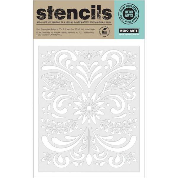 "Hero Arts Stencils 6.25""X5.25"""