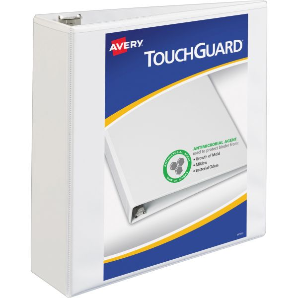 "Avery TouchGuard 3"" 3-Ring View Binder"