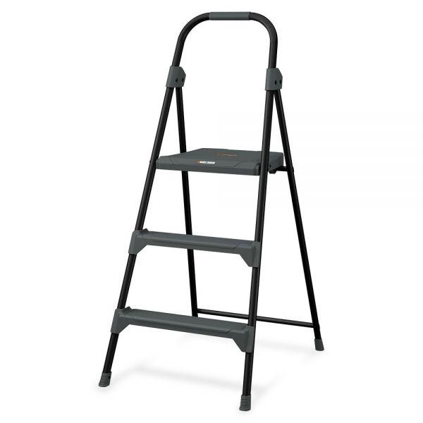 Louisville Davidson Ladders 3' Steel Type II Step Stool