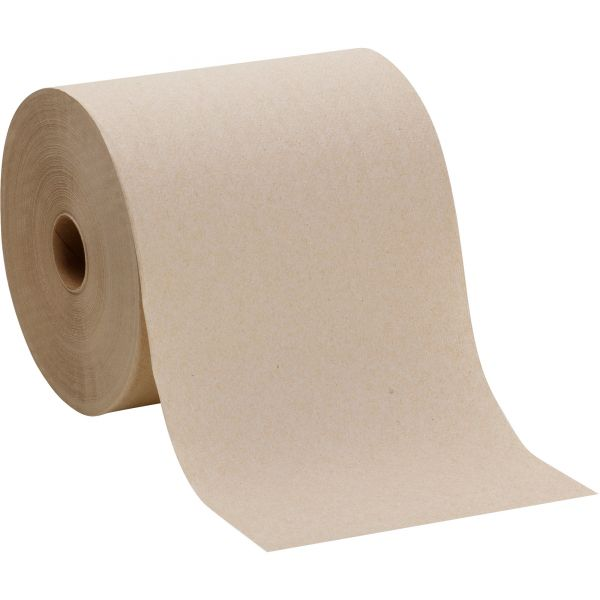 Georgia Pacific Professional Pacific Blue Basic Nonperforated Paper Towels, 7 7/8 x 800 ft, 1-Ply, Brown, 6 Rolls/Carton