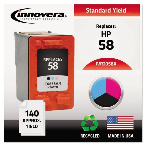 Innovera Remanufactured HP 58 Ink Cartridge