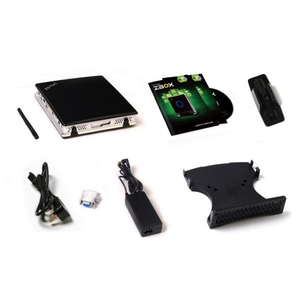 Zotac ZBOX M ZBOX-MN320-U Desktop Computer - Intel Pentium J2900 2.41 GHz - Mini PC