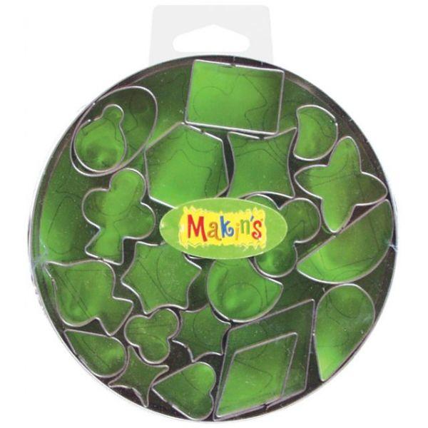 Makin's Clay Cutters 22/Pkg