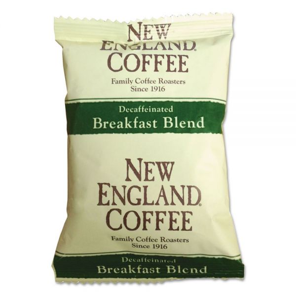 New England Coffee Decaf Breakfast Blend Portion Packs