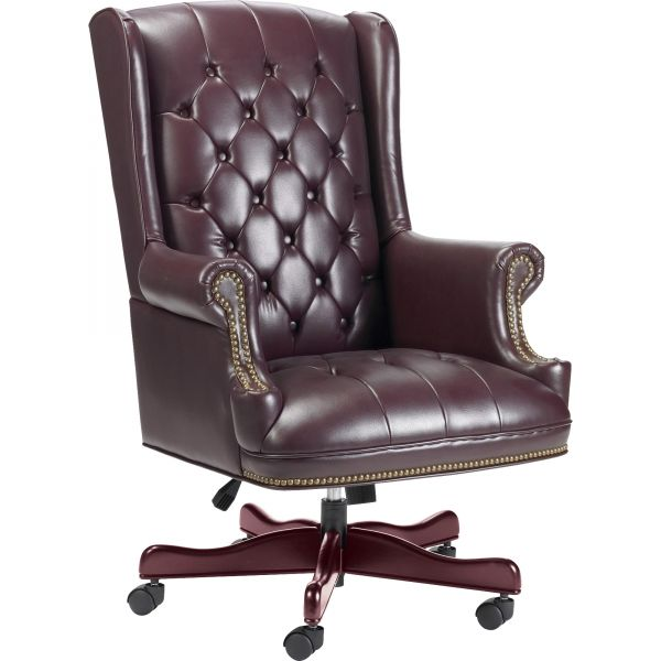 Lorell Traditional Executive Swivel Office Chair