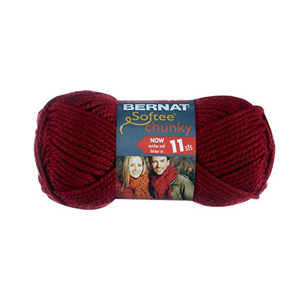 Bernat Softee Chunky Yarn - Wine