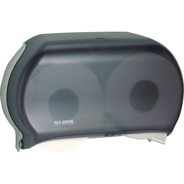 Twin Roll Jumbo Vision Toilet Paper Dispenser