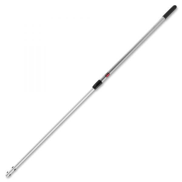 "Rubbermaid Commercial Executive Series Telescoping Microfiber Mop Handle, 42""-72"", Aluminum, Silver"