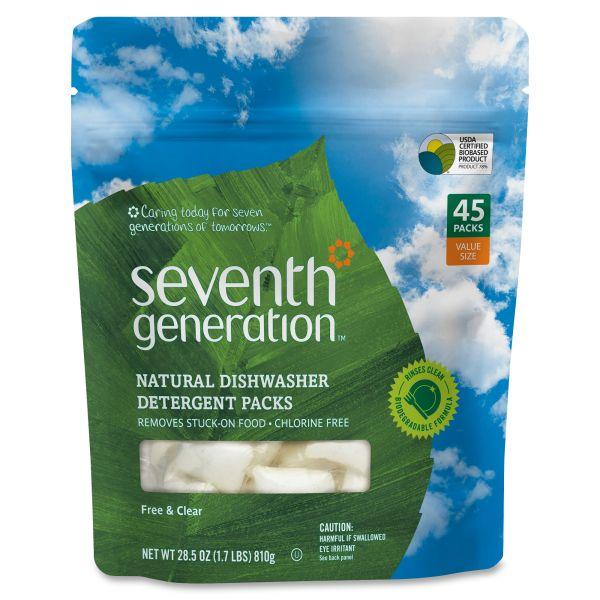 Seventh Generation Natural Dishwasher Soap Packs