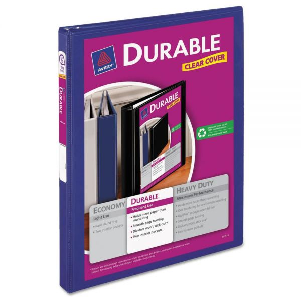 "Avery Durable 1/2"" 3-Ring View Binder"