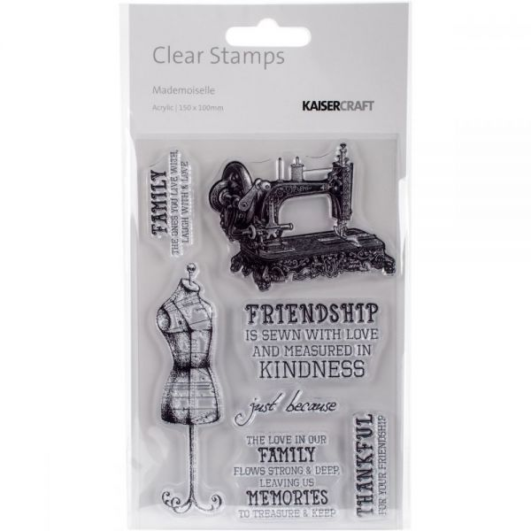 """Mademoiselle Clear Stamps 6""""X4"""""""