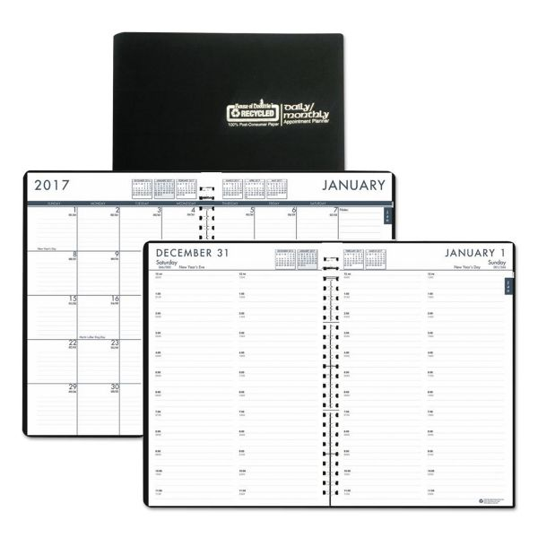 House of Doolittle Eco-Friendly 24/7 Daily/Monthly Appointment Book