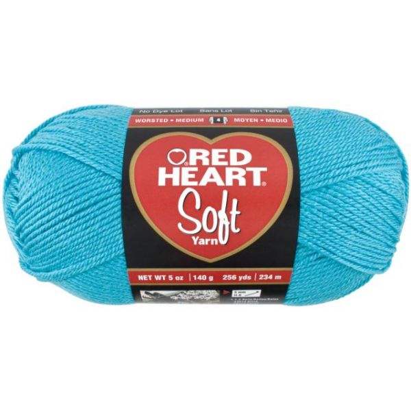 Red Heart Soft Yarn - Turquoise