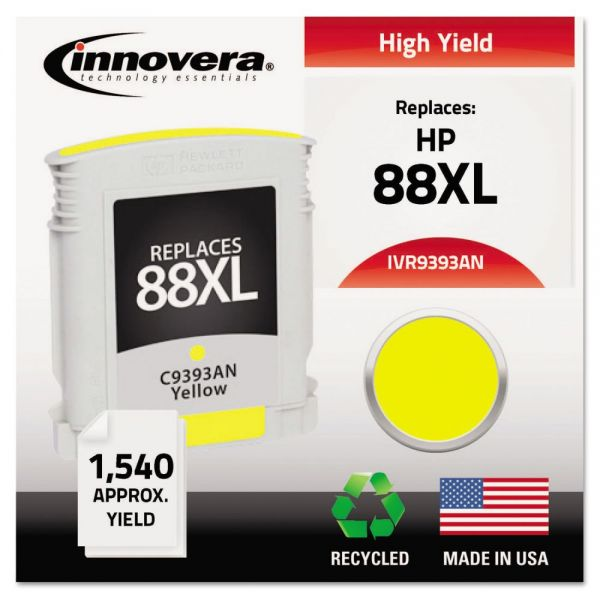 Innovera Remanufactured C3939AN (88XL) High-Yield Ink, Yellow