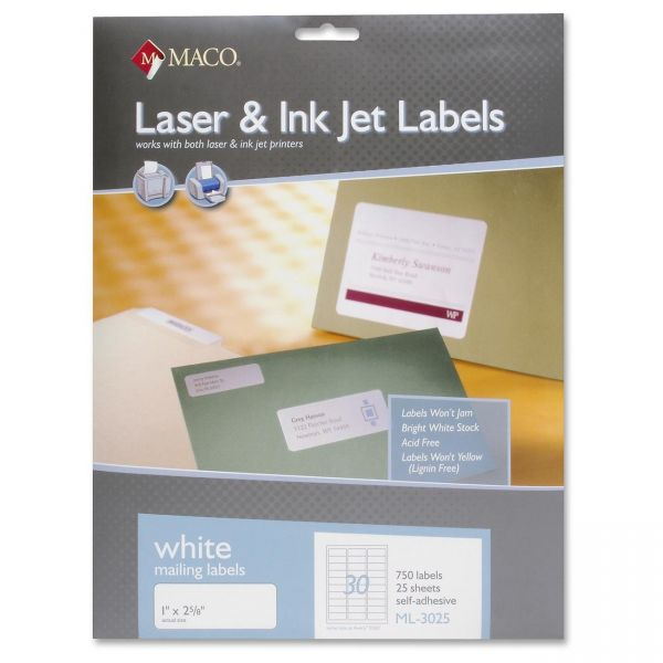 Maco Address Labels