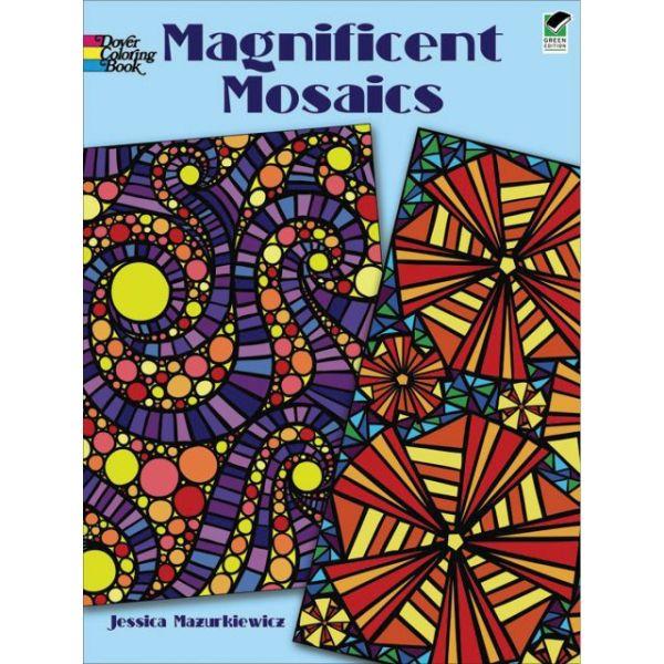 Dover Publications: Magnificent Mosaics Coloring Book