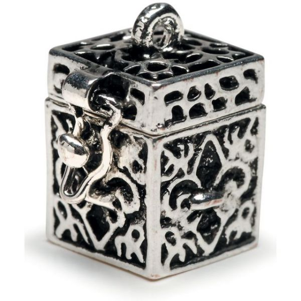 Prayer Box Metal Charm 1/Pkg