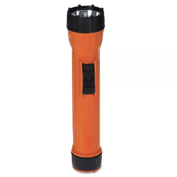 Bright Star WorkSafe I Model 2224 Waterproof Flashlight, 3 D, Orange/Black