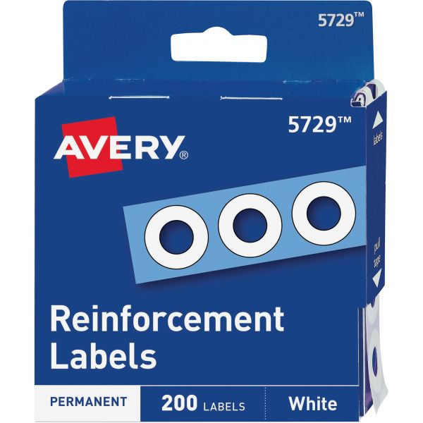 Avery Self-Adhesive Hole Reinforcement Labels