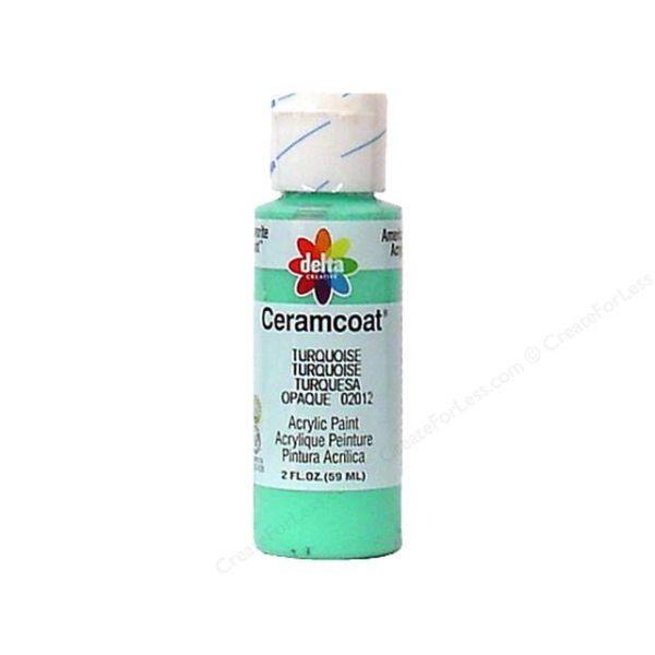 Ceramcoat Turquoise Acrylic Paint